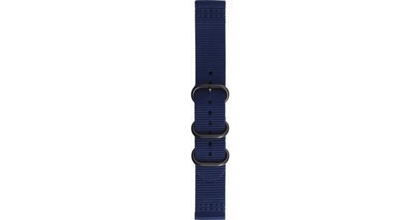 Samsung Gear Sport Premium Nylon Horlogeband Blauw