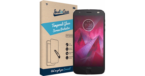 Just in Case Motorola Moto Z2 Force Protège-écran Verre trempé