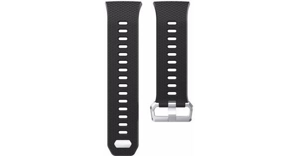 Just in Case Fitbit Ionic Bracelet de Montre en Silicone Noir