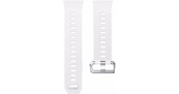 Just in Case Fitbit Ionic Siliconen Horlogeband Wit