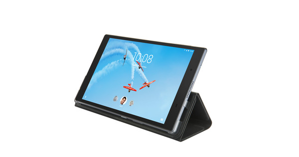 innovative design 6cfda 73597 Lenovo TAB4 8 Plus Folio Case and Screen Protector Black