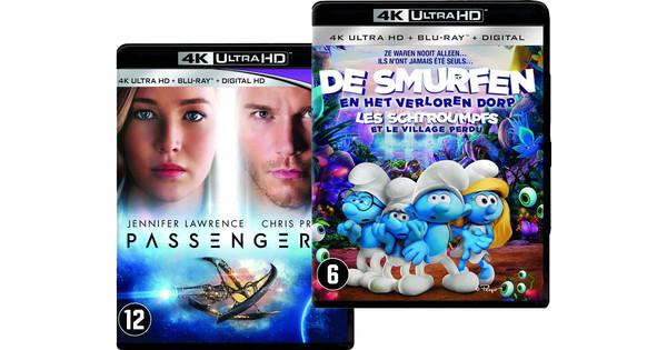 Blu-Ray bundel Passengers en de Smurfen