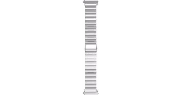 Just in Case Fitbit Ionic RVS Horlogeband Zilver