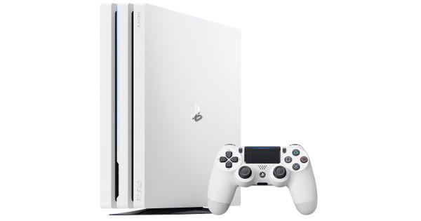 Sony PlayStation 4 Pro 1 To Blanc