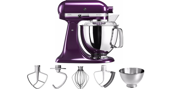 KitchenAid Artisan Mixer 5KSM175PS Donkerpaars