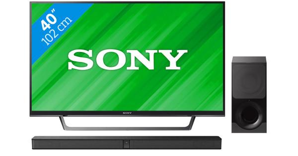 Sony KDL-40WE660 + Sony HT-CT290
