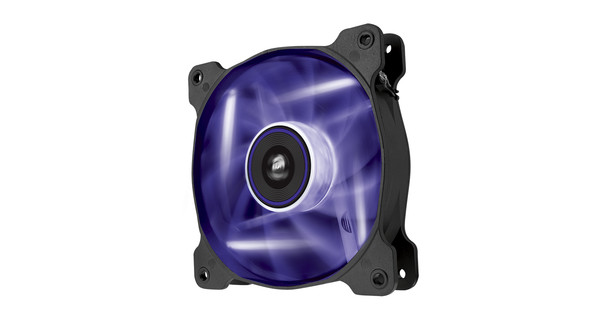 Corsair AF120 LED Quiet Edition Purple Double Pack