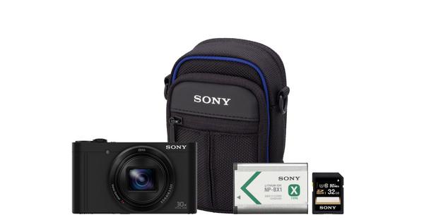 Vlogkit - Sony CyberShot DSC-WX500 Zwart