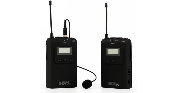 Boya BY-WM6 Lavalier Microphone sans fil