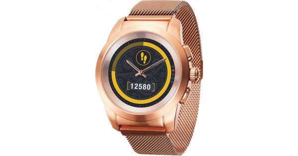 MyKronoz ZeTime 44mm Smartwatch Elite Rose Goud