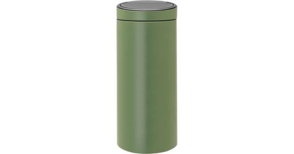 Brabantia Touch Bin Afvalverzamelaar 30 Liter.Brabantia Touch Bin 30 Liter Moss Green