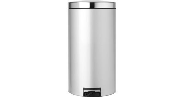 Brabantia Pedaalemmer 45 Liter Metallic Grey