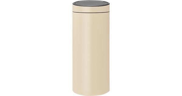 Brabantia Touch Bin Afvalverzamelaar 30 Liter.Brabantia Touch Bin 30 Liter Almond