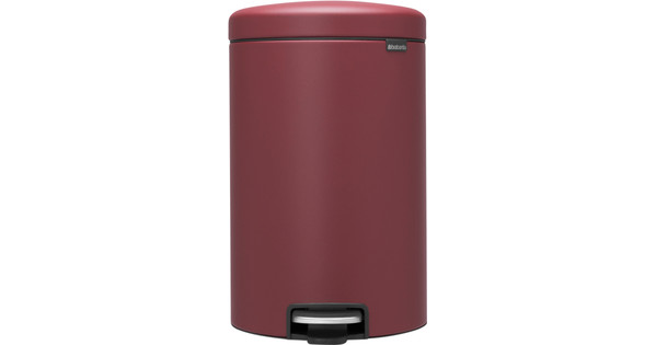Brabantia NewIcon Pedaalemmer 20 Liter Windsor Red