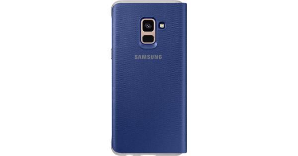new concept 495b5 e690e Samsung Galaxy A8 (2018) Neon Flip Cover Blue