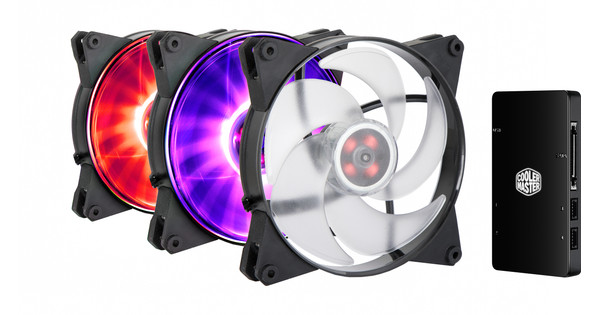 Cooler Master MasterFan Pro 140 Air Pressure 3 In 1 RGB