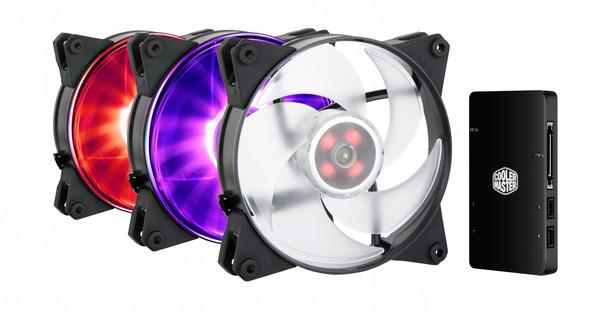 Cooler Master MasterFan Pro 120 Air Pressure 3 In 1 RGB