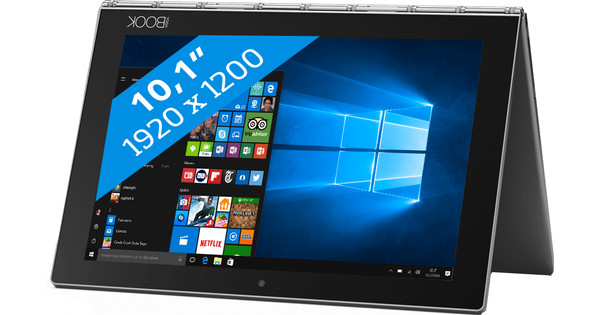 Lenovo Yoga Book Pro YB1-X91F Grijs Azerty