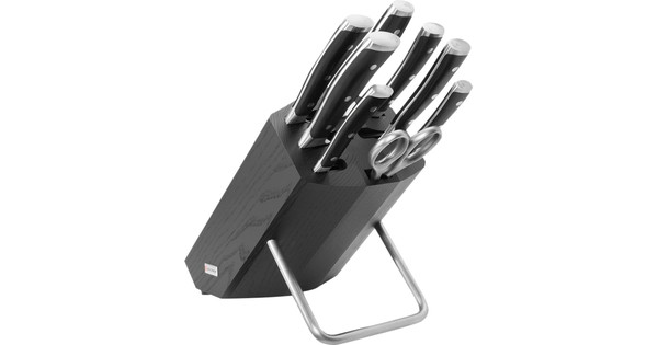 Wusthof Classic Ikon Knife Block 8-piece Black