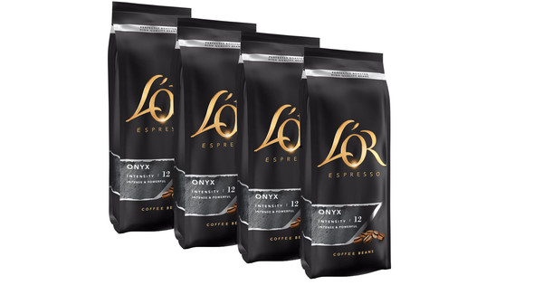 L'OR Expresso Onyx dark roast Grains de Café 2 kg