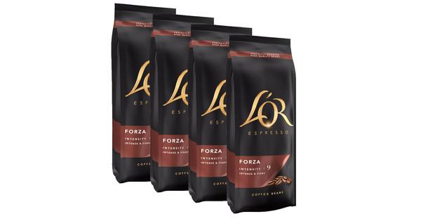 L'OR Espresso Forza koffiebonen 2 kg