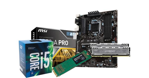 Basis Upgrade Kit met M.2 SSD