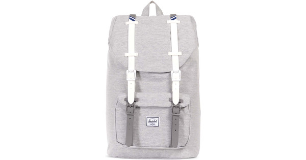 f68d6c28b76 Herschel Little America Mid-Volume Gray   White Rub - Coolblue ...