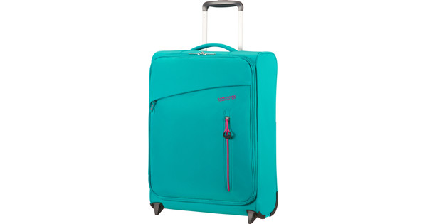 American Tourister Litewing Upright 55cm Aqua Turquoise