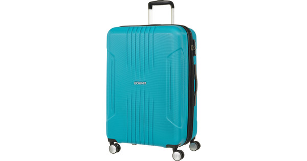 American Tourister Tracklite Expandable Spinner 67cm Sky Blue