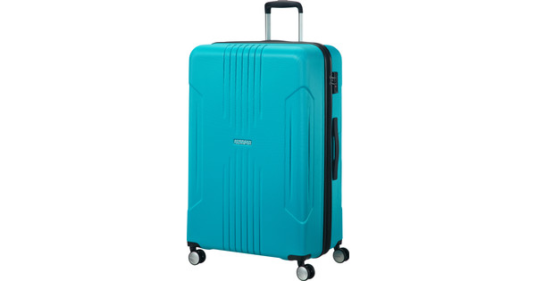 American Tourister Tracklite Expandable Spinner 78cm Sky Blue