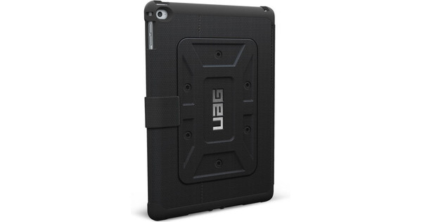 UAG Tablet Hoes Folio Apple iPad Air 2 Book Case Zwart