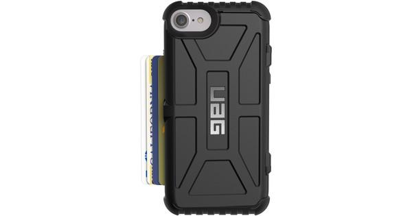 100% authentic 69ee2 62f1e UAG Trooper Card Apple iPhone 6 Plus/6s Plus/7 Plus/8 Plus Back Cover Black