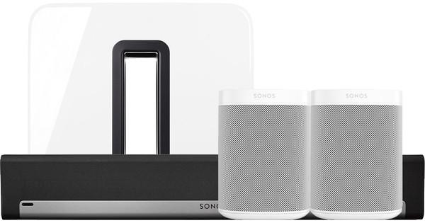 Sonos Playbar 51 One X2 Sub Wit