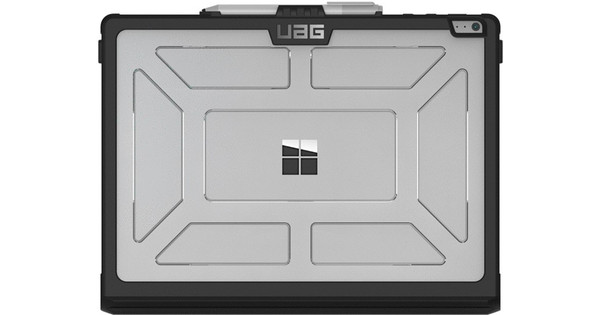 UAG Ice Tablet Hoes Microsoft Surface Book Book Case Transparant