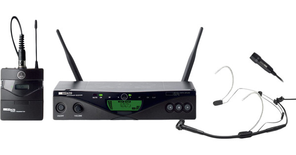AKG WMS470 Presentatieset Band 1 (650 - 680 MHz)