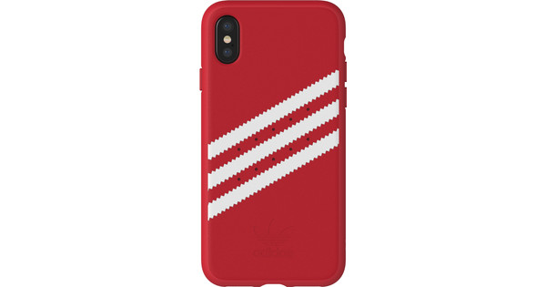 ea7e991ee065a5 Adidas Originals Molded Suede iPhone X Back Cover Red - Coolblue ...