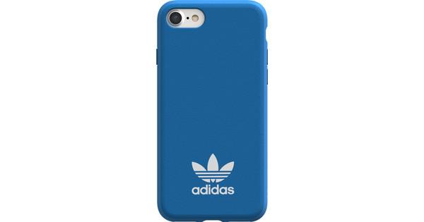 migliori scarpe da ginnastica 289cf 68665 Adidas Originals Moulded iPhone 6/6S/7/8 Back Cover Blauw
