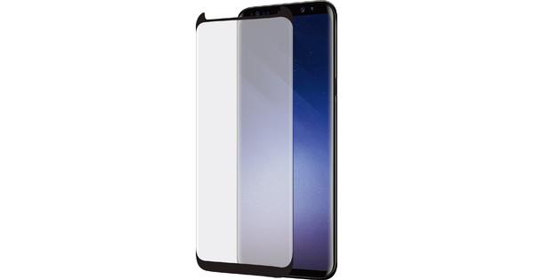 Azuri Protège-écran Case Friendly Incurvé Verre trempé Samsung Galaxy S9 Plus Noir