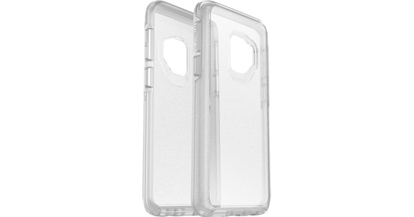 huge discount ee133 b571a Otterbox Symmetry Clear Stardust Samsung Galaxy S9 Back Cover Transparent
