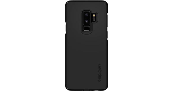 new product 693b2 62d5c Spigen Thin Fit Samsung Galaxy S9 Plus Back Cover Black
