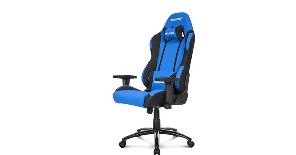 Pleasant Ak Racing Prime Gaming Chair Black Blue Machost Co Dining Chair Design Ideas Machostcouk