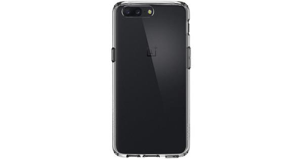 online retailer de0e9 a00b1 Spigen Ultra Hybrid OnePlus 5 Back Cover Transparent - Coolblue ...