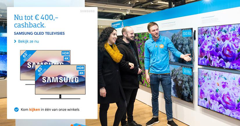 Samsung Cashback Televisies V2