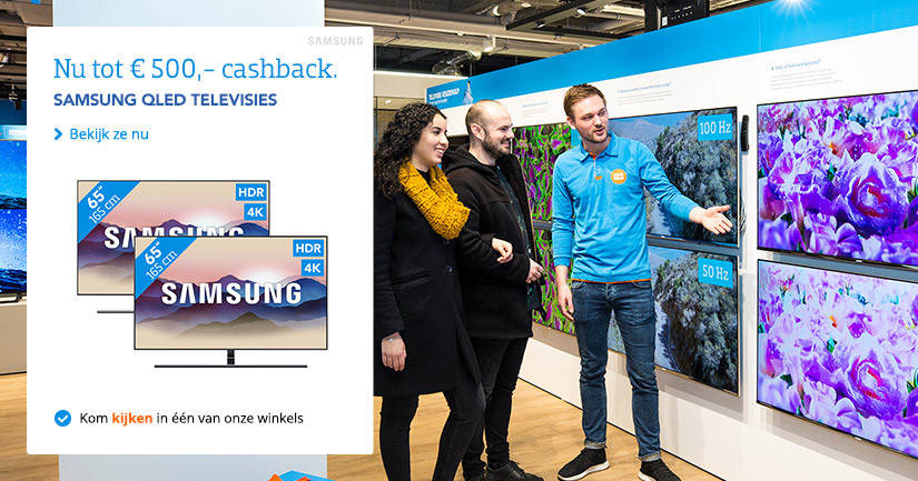 Samsung Cashback Televisies V3