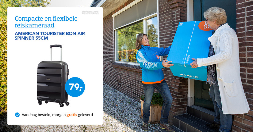 American Tourister Bon Air Spinner 55cm