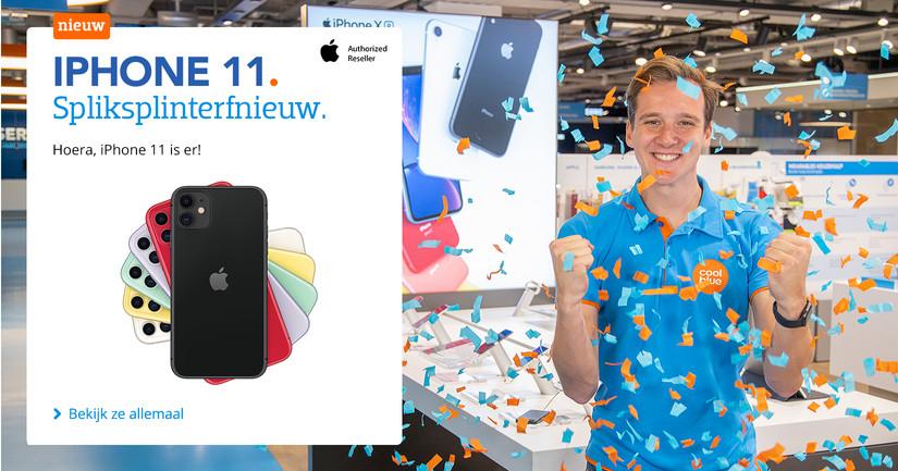 iPhone 11 - Hoera, hij is er BE