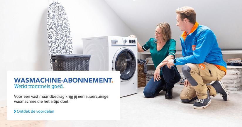 Wasmachines Abonnementen BE