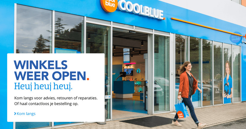 Winkels weer open