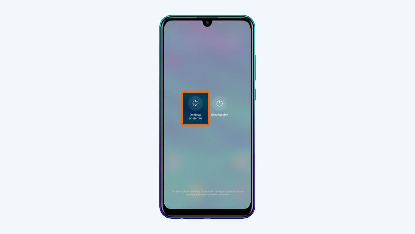 Huawei smartphone opnieuw opstarten