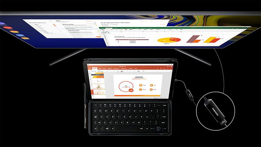 Samsung Galaxy Tab S4 keyboard cover DeX